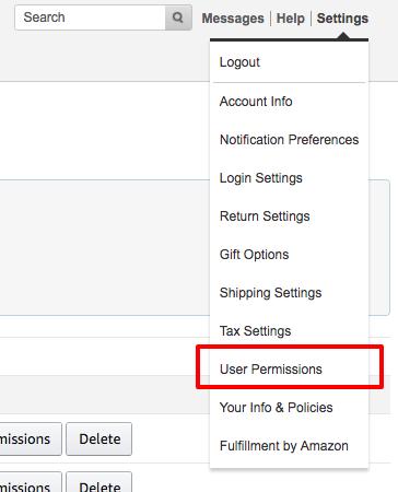 Amazon MWS Developer Permissions, Renew Access - Geekseller